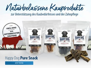 Happy Dog Pure Snacks