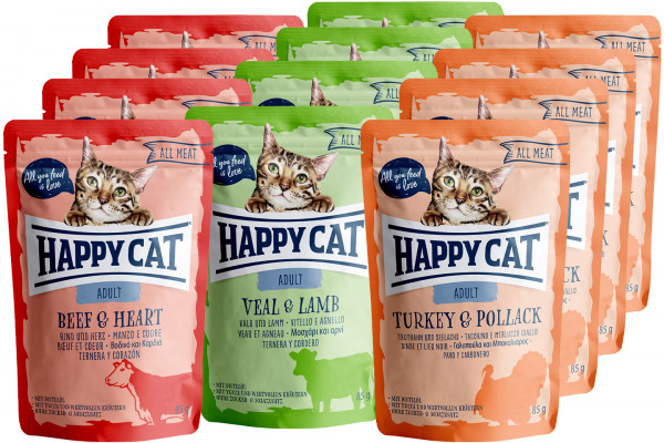Happy Cat All Meat Mixpaket