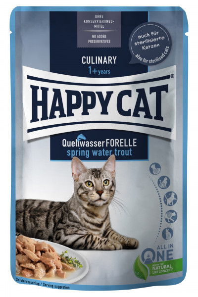 Happy Cat MIS Culinary Spring-Water Trout