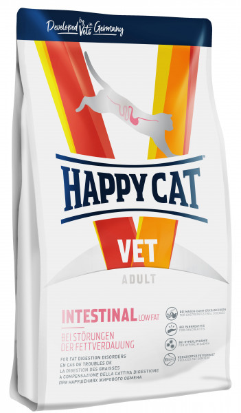 Happy Cat VET Diät Intestinal Low Fat trocken