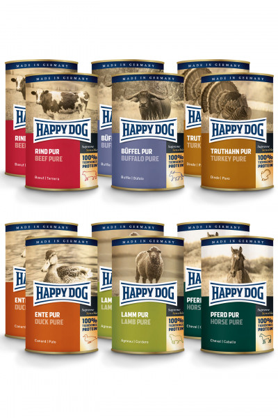 Happy Dog Fleisch Pur Mixpaket