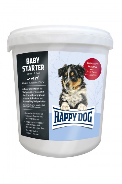 Happy Dog Baby Starter Lamm & Reis